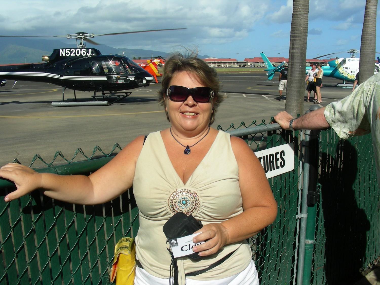 Athena at Sunshine Helicopters
