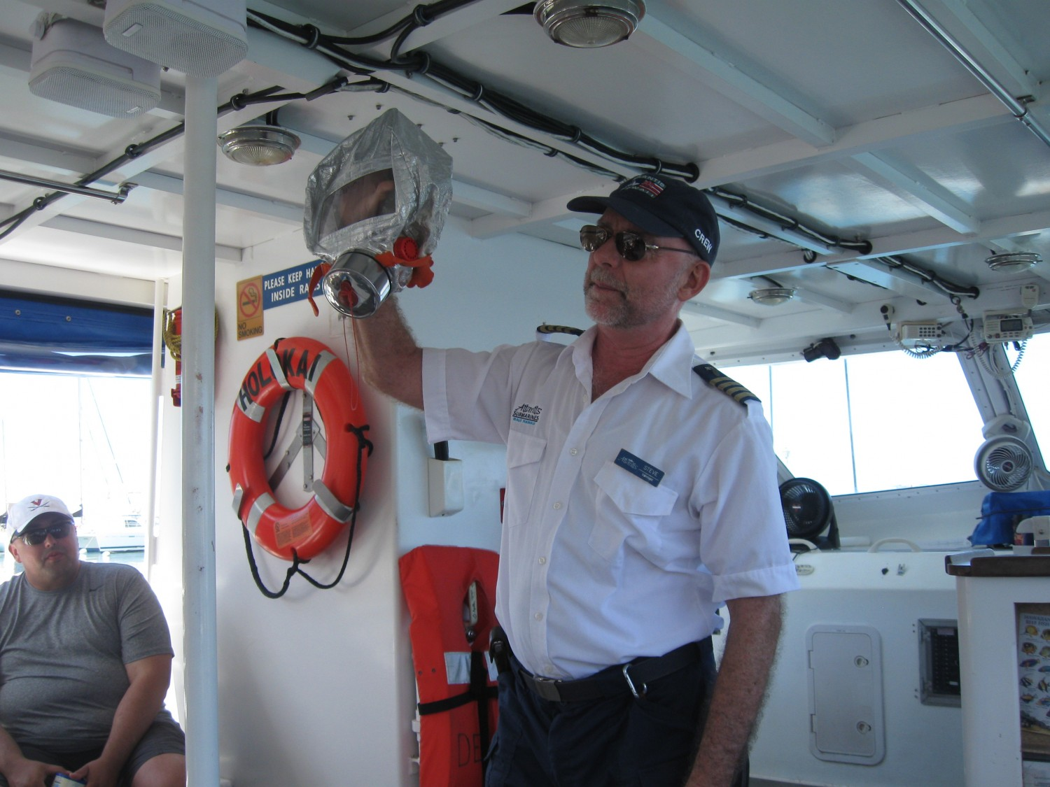 Our Submarine Tour Guide