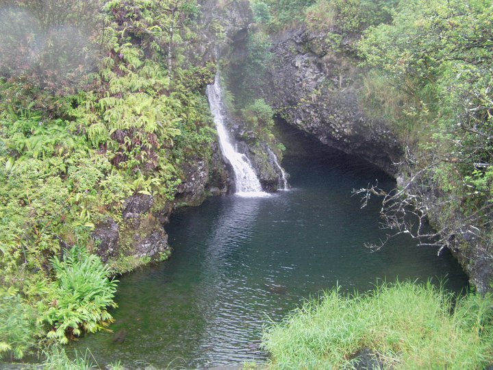Hana Hwy Waterfall