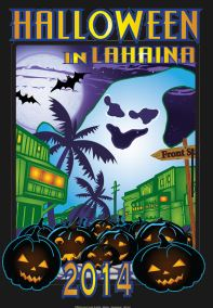 Halloween fun in Lahaina logo